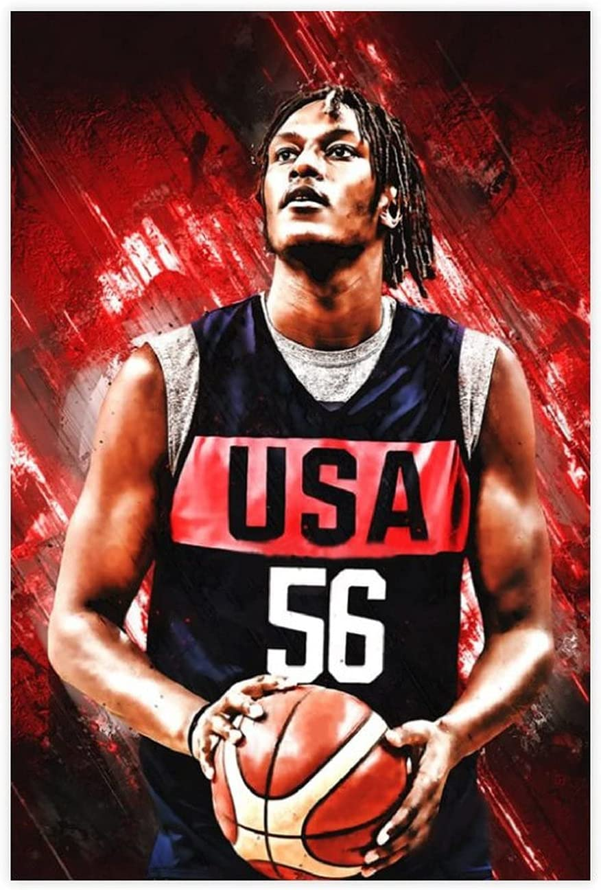 Myles Turner Basketball Player Poster Max 77% OFF Dec Wall Complete Free Shipping Art Canvas