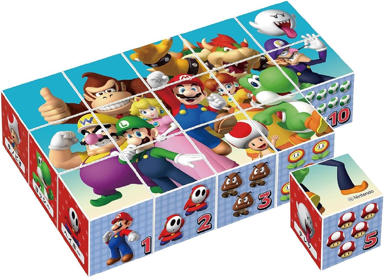 orden ahora disfrutar de gran descuento súper súper súper Mario Cube Puzzle 15 pieces (japan import)  cómodamente