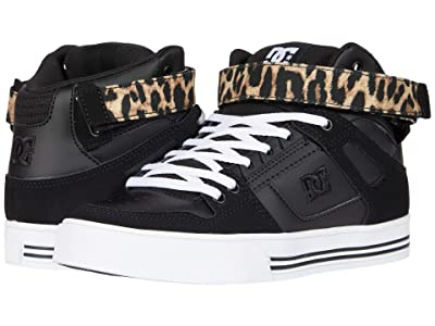 DC Pure High Top V (Leopard Print) Women