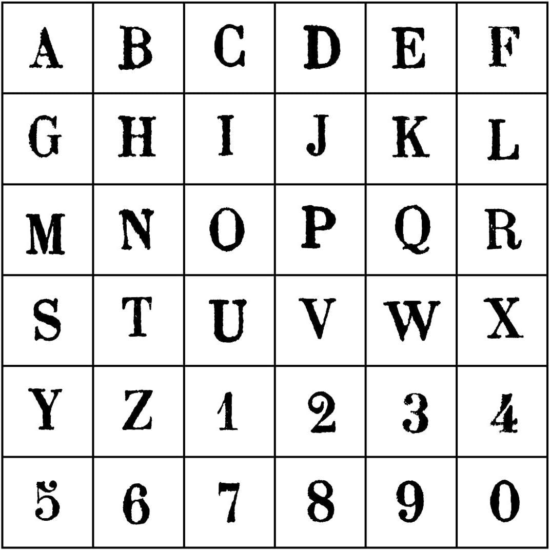 Artemio 10004053 Stamps Set Case #1 Albuquerque Mall Alphabet Upper latest