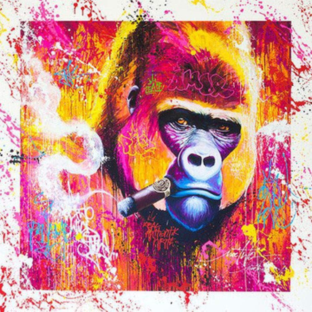 LZMAXY DIY 5D Diamond Painting Orangutan for Kids Kit Ful Oklahoma City Super-cheap Mall Adults