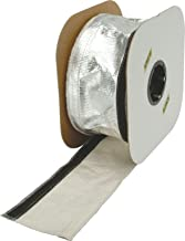Design Engineering 010405 Heat Shroud - Aluminized Sleeving for Ultimate Heat Protection (with Hook and Loop Closure), 0.5