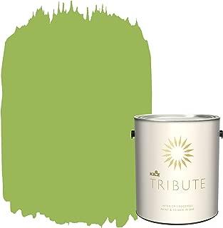 KILZ TRIBUTE Interior Eggshell Paint and Primer in One, 1 Gallon, Lush Green (TB-78)