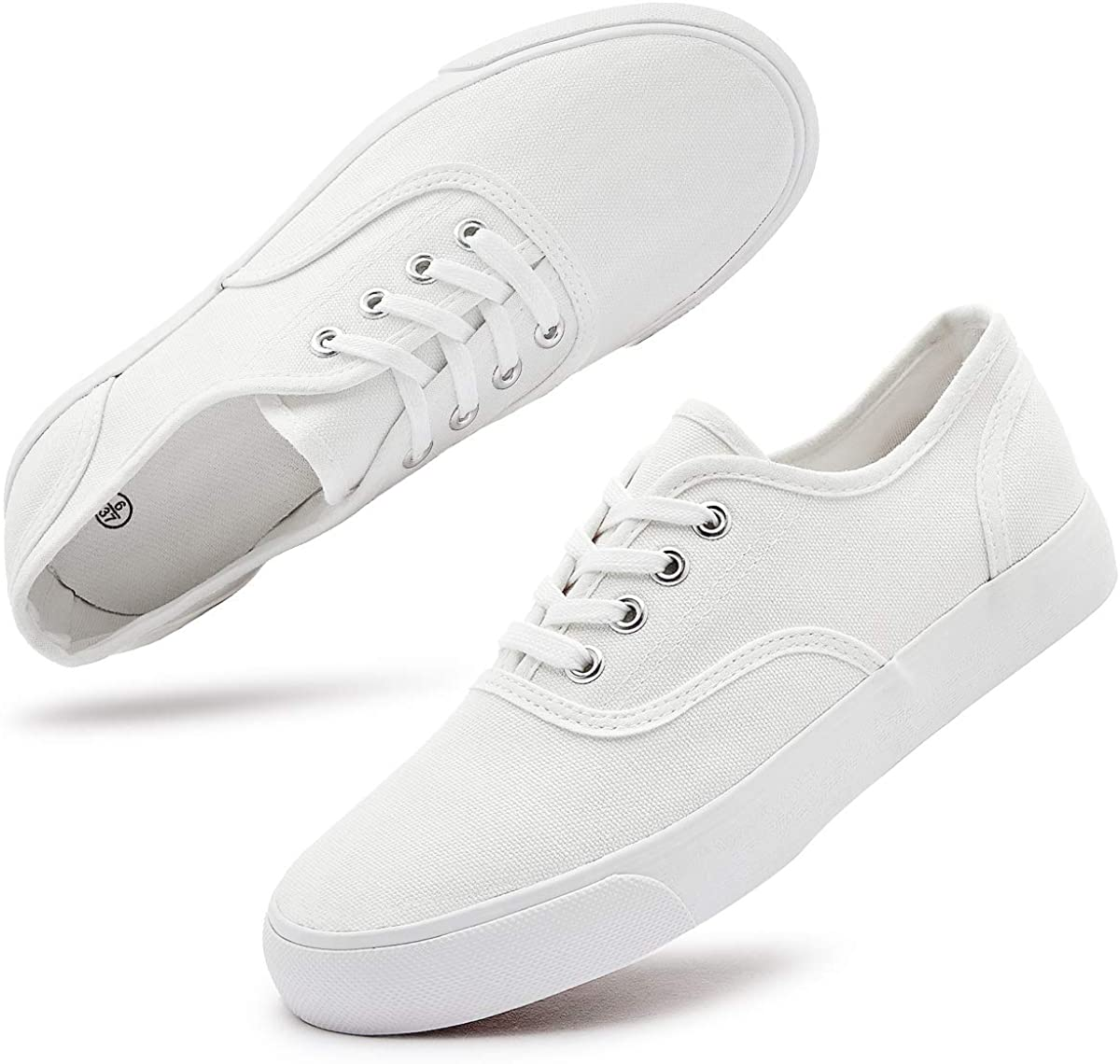Women's Canvas Sneakers Low Cut In a popularity Casual SEAL limited product Shoes Up Tenn Lace
