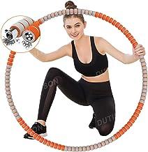 DUTISON Hullahub Fitnessbanden voor volwassenen, stabiele roestvrijstalen kern en langere levensduur, met massagedesign, e...