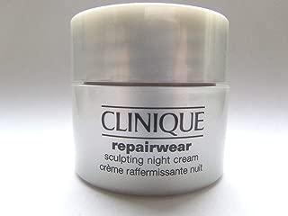 Clinique Repairwear Sculpting Night Cream Deluxe Travel Size .5 Oz