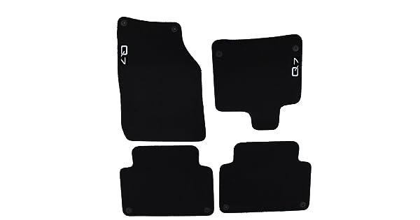 Set of 4 Genuine Audi Accessories 4L1061270PBMNO Premium Textile Floor Mat for Audi Q7,
