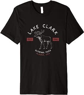 Lake Clark National Park T Shirt Alaska Vintage Souvenir