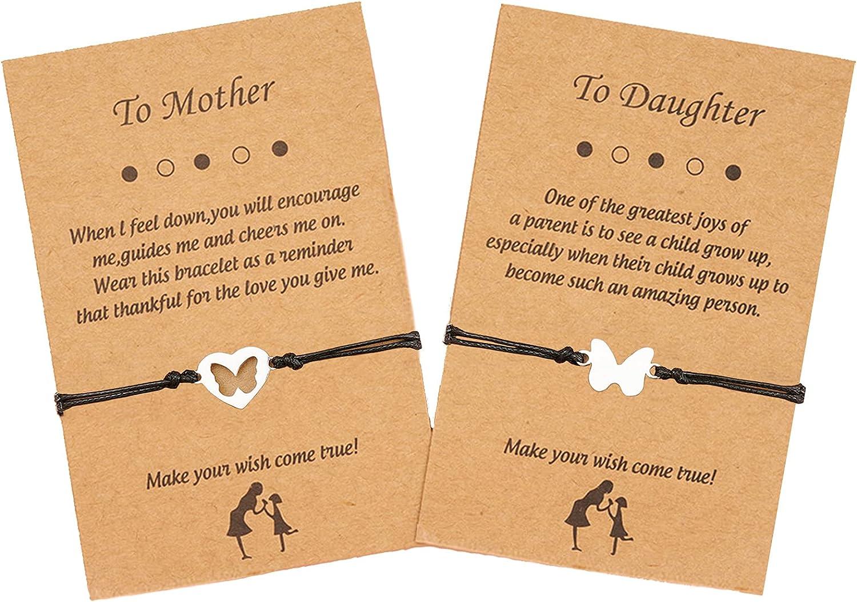Harry and Henry Mother Daughter Bracelets Set for 2 Heart Love B