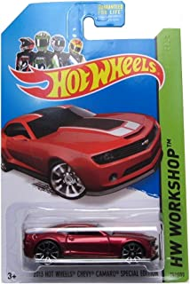 Hot Wheels 2014 HW Workshop 2013 Chevy Camaro Special Edition 202/250, Red