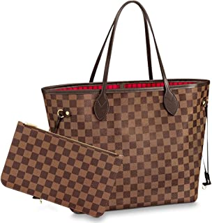 Shoulder Bags & Totes Purse with Inner Pouch,Handbags for Women