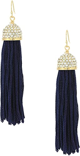 Lilly Pulitzer Midnight Tassel Earrings