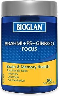 Bioglan BG Brahmi+PS+Ginkgo Focus 50s, 0.12 Kilograms