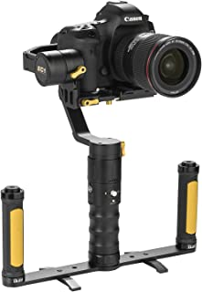 Ikan EC1 Dual Grip Handle Gimbal Kit for DSLR and Mirrorless Cameras, Black (EC1-DGH-KIT)