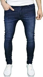 526Jeanswear Mens Senjo Stretch Super Skinny Fit Jeans