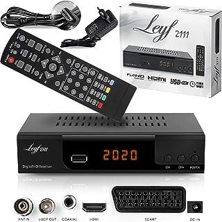 Kabelontvanger voor digitale kabeltelevisie - DVB-C (HDTV, DVB-C / C2, DVB-T/T2, HDMI, SCART, USB 2.0,) + HDMI-kabel (ontv...