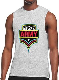 Stugotz Army Men's Sleeveless T-Shirt Muscle T-Shirts Tank Top