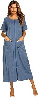 Best womens short zipper robe Reviews