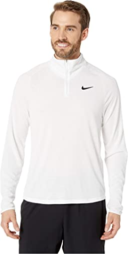 NikeCourt Challenger 1/2 Zip Long Sleeve Top