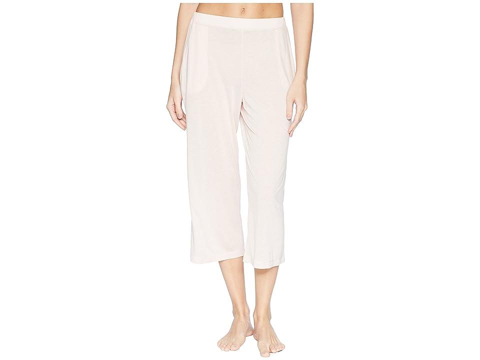 Hanro Malva Crop Pants (Light Rose) Women