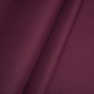 Erstklassiger Polyester Oxford 250D 1lfm - Wasserabweisend, Winddicht, Outdoor Stoff, Gartenmöbel Stoff Bordeaux