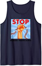 Stop Human Trafficking Anti-Human Trafficking Awareness Tank Top