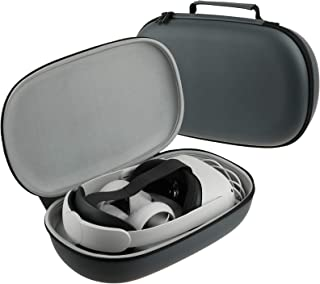 Esimen All-In-One Carrying Case for Oculus Quest 2 VR Gaming Headsets and Controllers Accessories, Hard Protective Travel ...