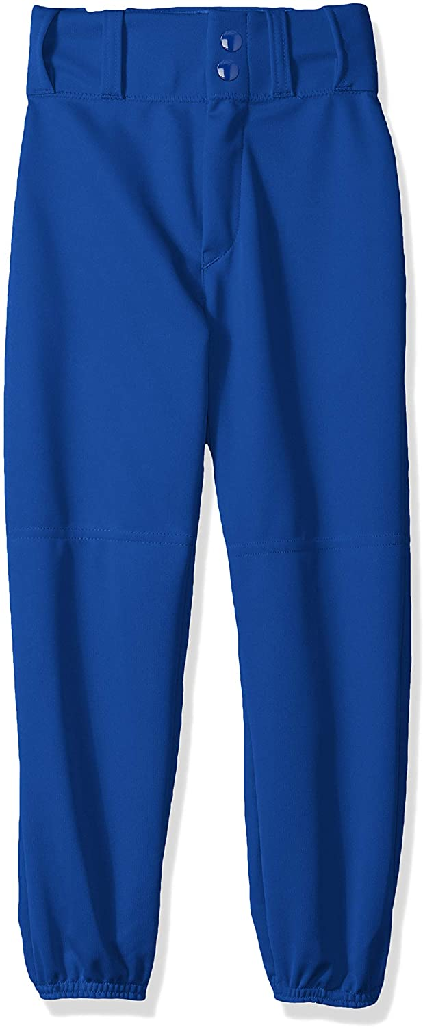Alleson Athletic High quality Boys Youth Elastic Bottom Deluxe Baseball Pants Royal