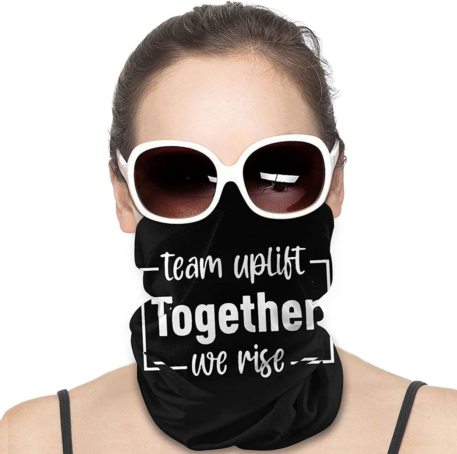 United We Stand Round Neck Gaiter Bandnas Face Cover Uv Protection Prevent bask in Ice Scarf Headbands Perfect for Motorcycle Cycling Running Festival Raves Outdoors