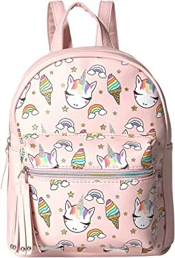 Sweet Gwen Printed Backpack