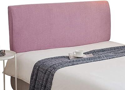 Headboard Slipcover Bed Cover Stretch Head Protector Decor Slip Purple