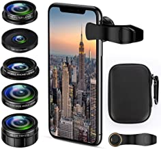 Cell Phone Camera Lens Kit, 5 in 1 iPhone Photography...