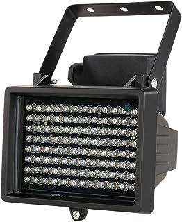 Kkmoon 96 LEDs IR-spotlight, vattentät, för mörkerseende CCTV-säkerhetskameror