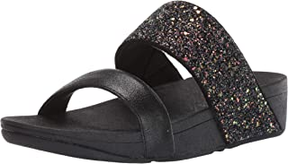 FitFlop ROSA GLITTER SLIDES womens Slide Sandal