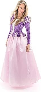 Deluxe Rapunzel Dress-Up Costume for Adult Women