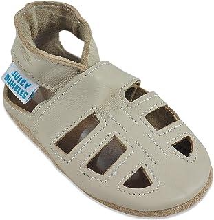 Zapatos Bebe Niña - Zapatos Bebe Niño - Zapatillas de Cuero - Sandalias Niña Zapatos Niña Zapatos Niño 0-6 Meses hasta 24 ...