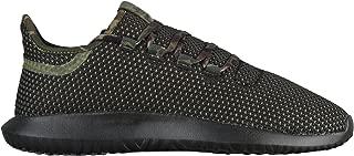 adidas Originals Tubular Shadow Knit - Mens (11.5 M US, Black/Olive Cargo/Black)