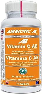 Airbiotic AB. Vitamin C Complex. 1.000 mg. 60 Tabletas
