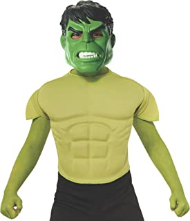 hulk mask and muscles