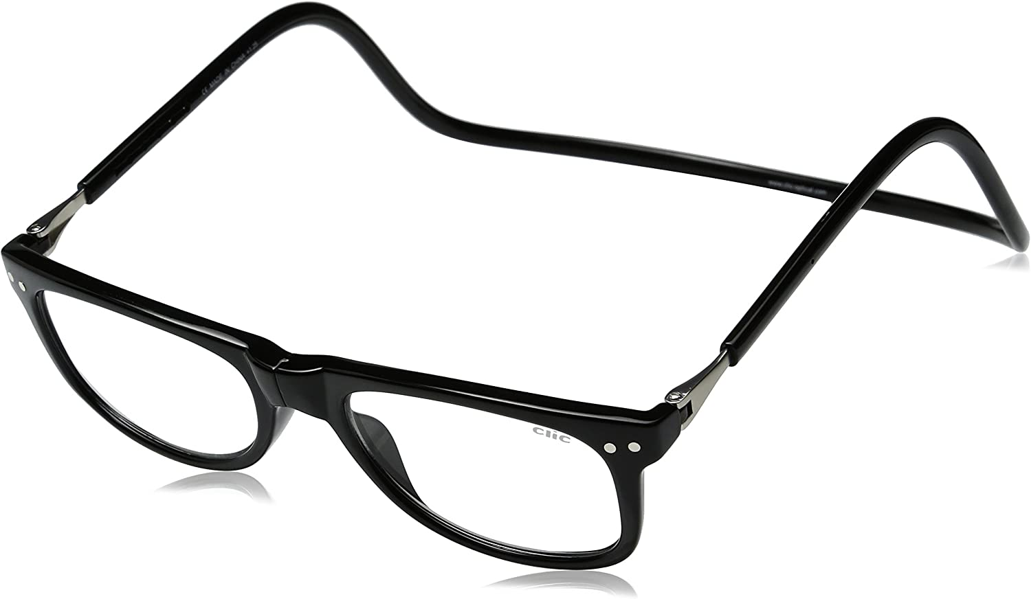 Clic Magnetic San Diego Mall Eyeglasses Ashbury Spring new work one after another Reading in or Glasses Tor Black