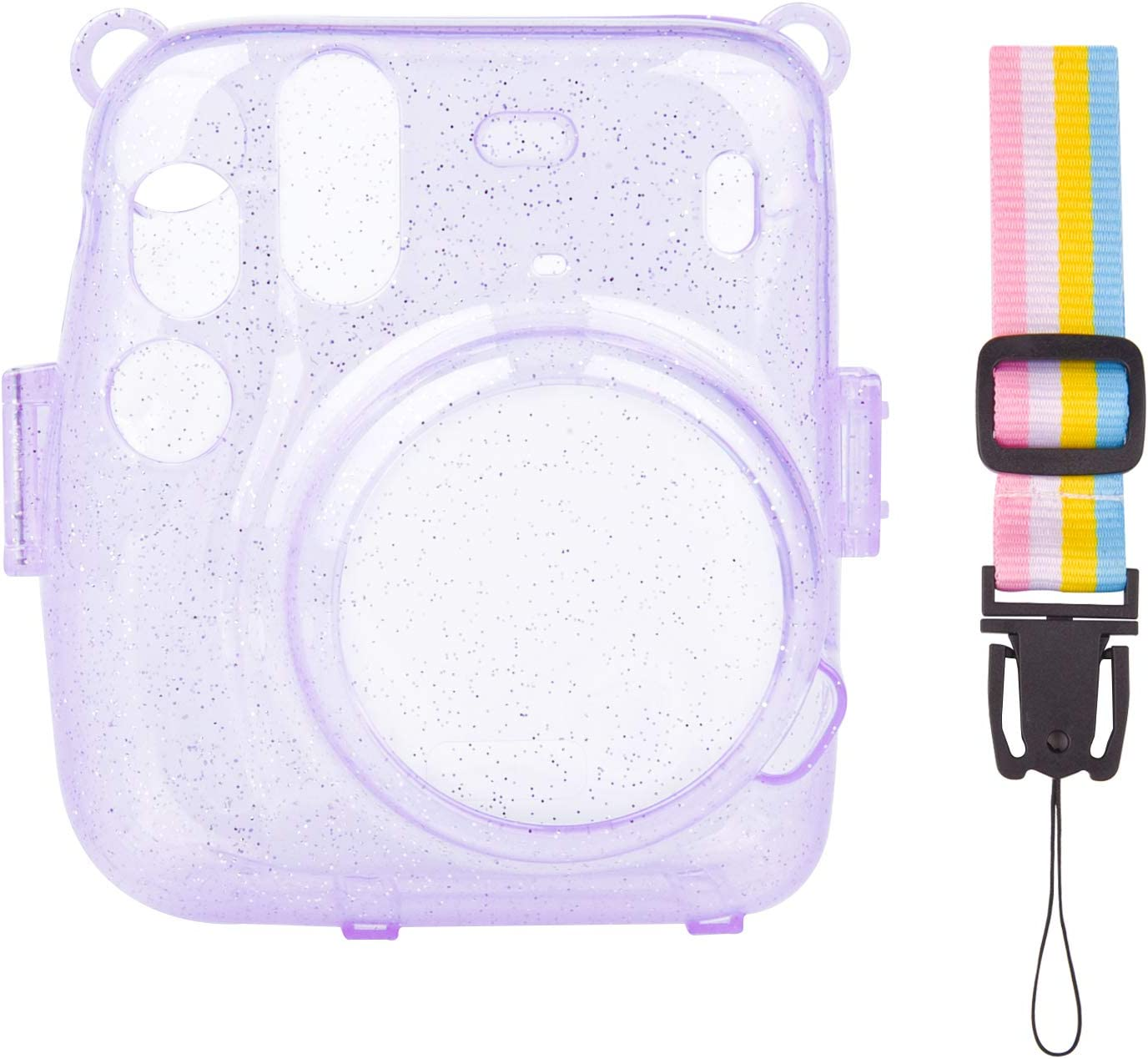 SUNMNS Clear Crystal Protective Case Max 74% OFF In Fujifilm Super special price with Compatible