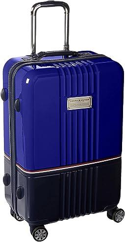 "Duo Chrome 24"" Upright Suitcase"