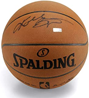 KOBE BRYANT Autographed Los Angeles Lakers Authentic Spalding Basketball PANINI