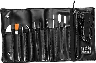 Kit de ferramentas de reparo Homyl Pro Shop 17 peças preto 247 x 117 x 45 mm para relógio eletrônico de celular