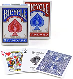 Bicycle Poker Size Standard Index Playing Cards Pack of 2
