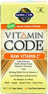 GARDEN OF LIFE VITAMIN CODE RAW VITAMIN C 240