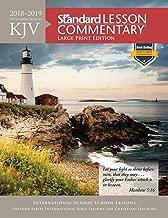 KJV Standard Lesson Commentary® Large Print Edition 2018-2019