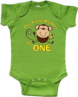 inktastic - Little Monkey 1st Birthday Boy Infant Creeper 366b