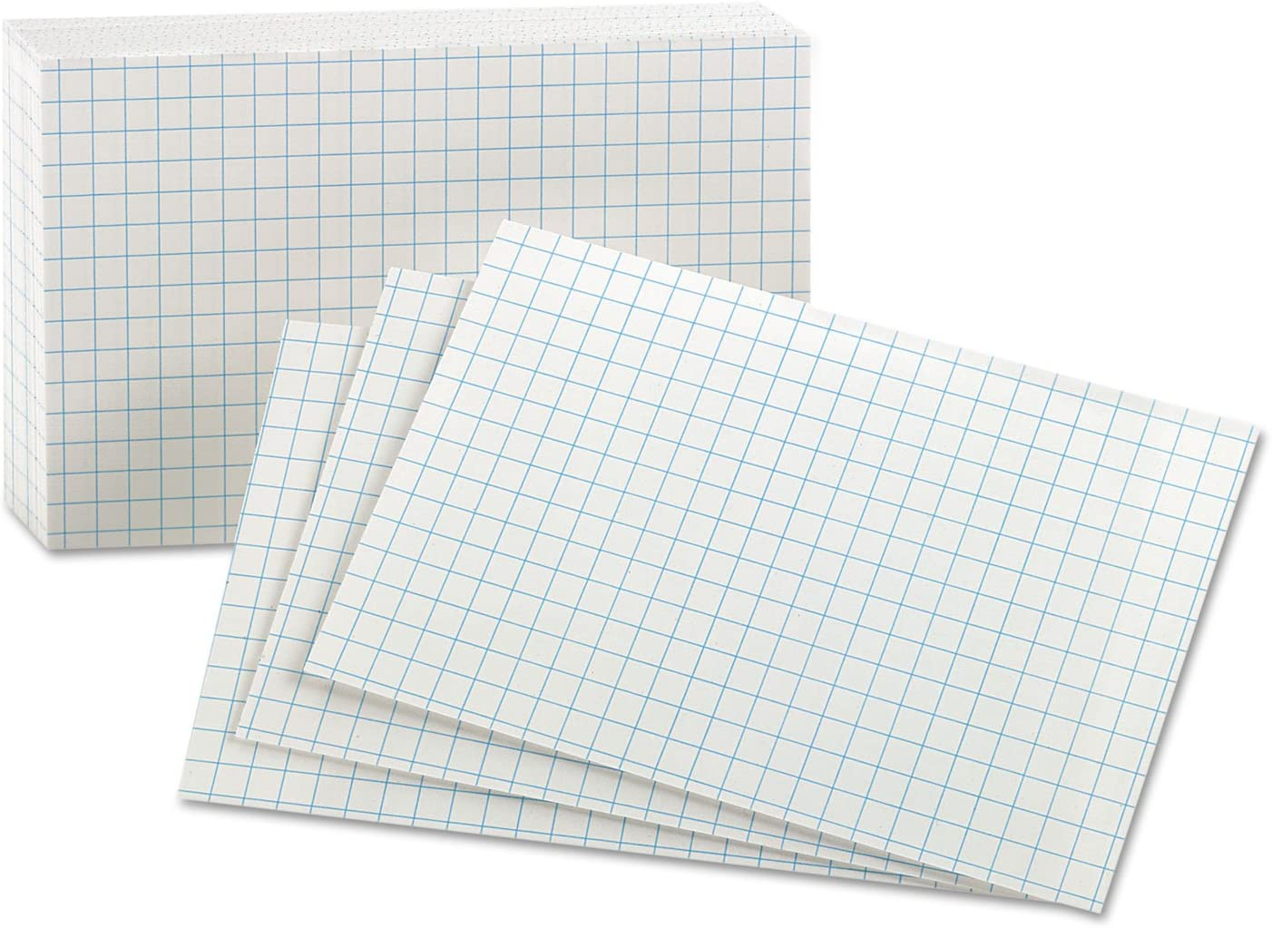 Amazon.com : Oxford Grid Index Cards, 225 x 25, White, 25/Pack Pertaining To 3 X 5 Index Card Template