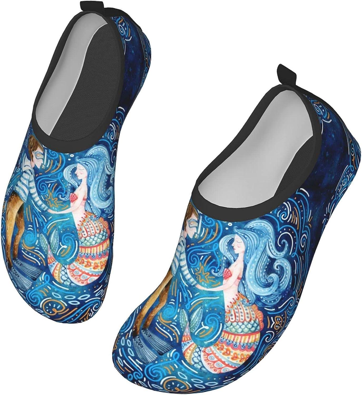 in Love Men's Women's Water Shoes Barefoot Quick Dry Slip-on Aqua Socks for Yoga Beach Sports Swim surf